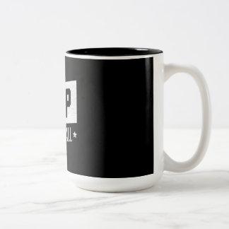 Rathaus-Tasse Zweifarbige Tasse