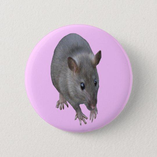 Ratten-Knopf Runder Button 5,7 Cm