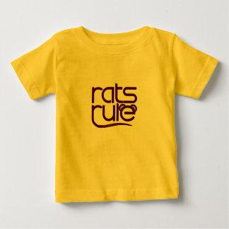 Ratten-Regel! Baby T-shirt