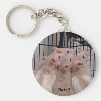 Ratten!! Schlüsselanhänger