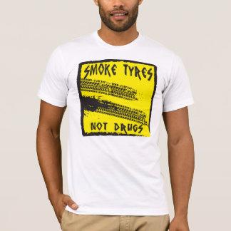 RAUCH ERMÜDET… NICHT DROGEN-T-SHIRT T-Shirt