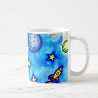 Raum-Abenteuer Tasse
