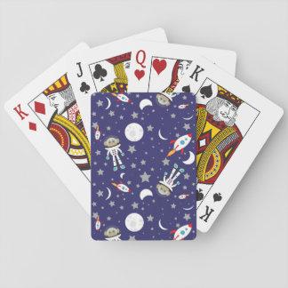 Raum-Affe-Spielkarten Spielkarten
