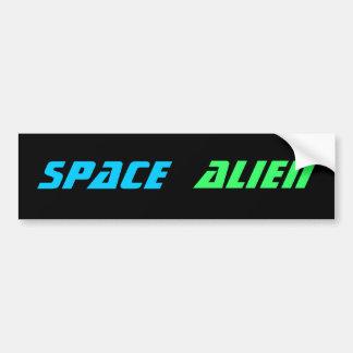 RAUM-ALIEN-Autoaufkleber Autoaufkleber