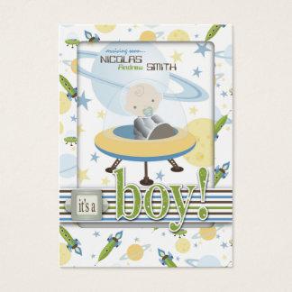 Raum-Baby-Erinnerung Notecard Visitenkarte