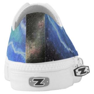 Raum-Blitz Niedrig-geschnittene Sneaker