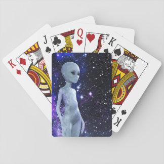Raum, der auf Spielkarten ist