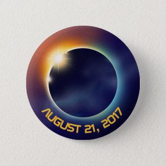 Raum der Sonnenfinsternis-| der Astronomie-| Runder Button 5,1 Cm