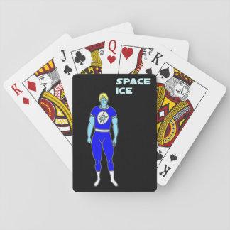 Raum-Eis-Spielkarten Spielkarten