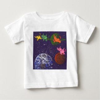 Raum-Elefanten Baby T-shirt