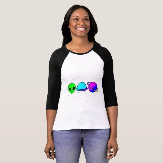 Raum-Fallraglan-Shirt T-Shirt
