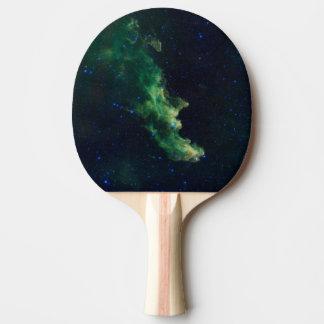 Raum-Galaxie-Klingeln Pong Paddel Tischtennis Schläger