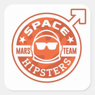 """Raum Hipsters® MARS-TEAM 3"""" Aufkleber"""