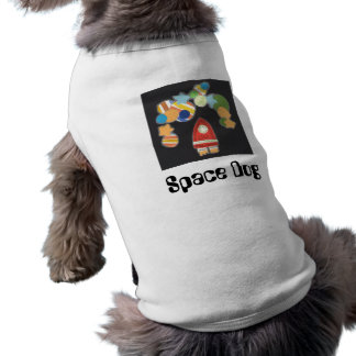 Raum-Hundekostüm Kleid-Oben Shirt -