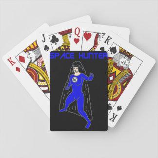Raum-Jäger-Spielkarten Spielkarten