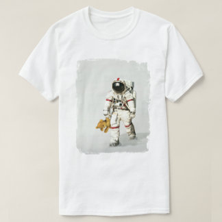 Raum kann ein einsamer Platz sein T-Shirt
