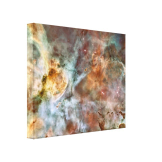 Raum-Nebelfleck Leinwanddruck