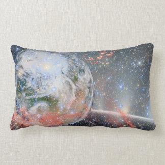 Raum polstert Planeten-Erde Lendenkissen