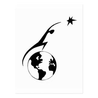 Raum-Regelungs-Ikone Postkarte