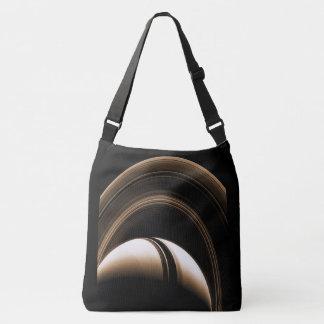 Raum sackt Saturn ein Tragetaschen Mit Langen Trägern