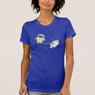 Raum-Schaf-lustiges Wort-Wortspiel T-Shirt