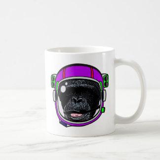 Raum-Schimpanse Kaffeetasse