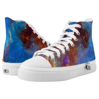 Raum-Schuhe Hoch-geschnittene Sneaker
