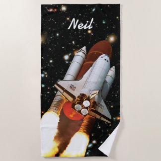 Raum-Shuttle-Atlantis-Produkteinführung STS-45 - Strandtuch