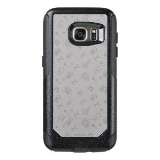 Raum-und Wissenschafts-Gekritzel OtterBox Samsung Galaxy S7 Hülle