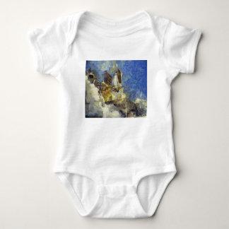 Raumfähreprodukteinführung Baby Strampler