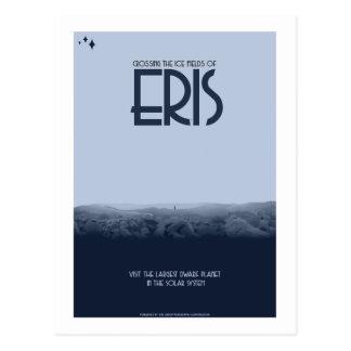Raumfahrt-Postkarte - Eris Postkarte