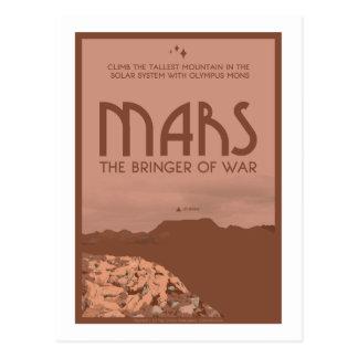 Raumfahrt-Postkarte - Mars Postkarte