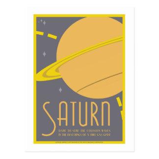 Raumfahrt-Postkarte - Saturn Postkarte