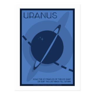 Raumfahrt-Postkarte - Uranus Postkarte