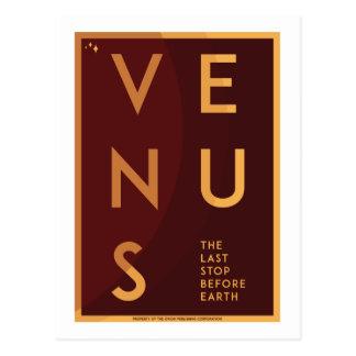Raumfahrt-Postkarte - Venus Postkarte