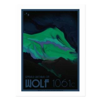 Raumfahrt-Postkarte - Wolf 1061c Postkarte