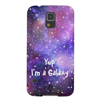 Raumfall - Yup bin ich eine Galaxie Samsung Galaxy S5 Cover
