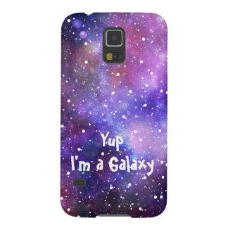 Raumfall - Yup bin ich eine Galaxie Samsung S5 Cover
