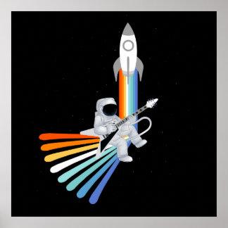 Raumraketenmann Poster