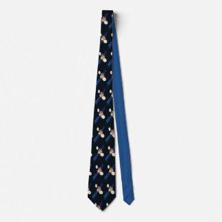 Raumsatellit Bedruckte Krawatte