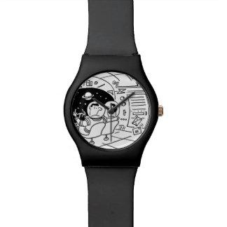 Raumschiff-Armbanduhr Armbanduhr