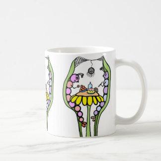 Raupen-Kuchen-Bruch-Tasse Kaffeetasse