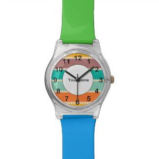Raute rudert abstrakten Entwurf Armbanduhr