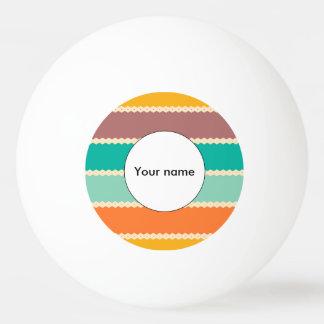 Raute rudert abstrakten Entwurf Tischtennis Ball