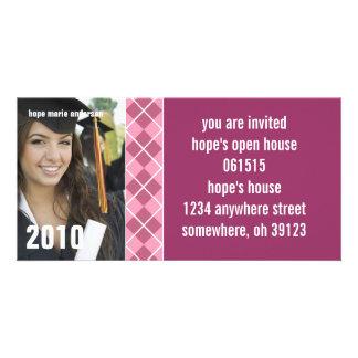 Rauten-Senior stellt Abschluss-Einladung 2010 dar Bildkarte
