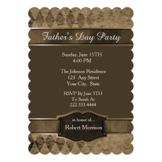 Rauten-Vatertags-Einladung