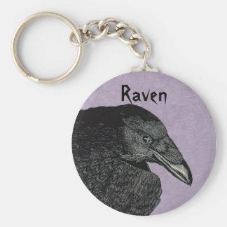 Raven Keychain