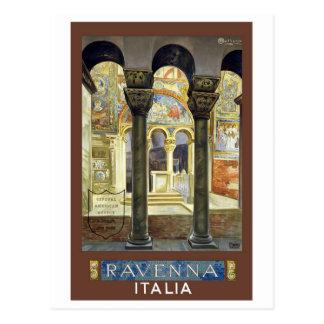 Ravenna Italien Vintag Postkarte