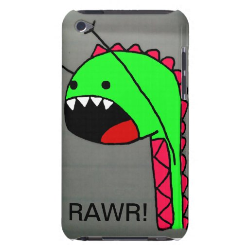 Rawr Dino IPod Fall Barely There iPod Case
