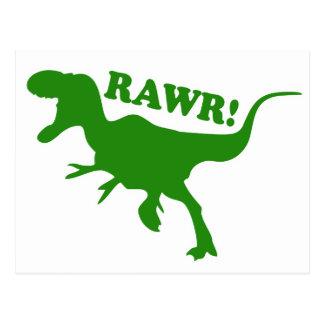 RAWR ist, wie Dinosaurier i-Liebe Sie sagen Postkarte